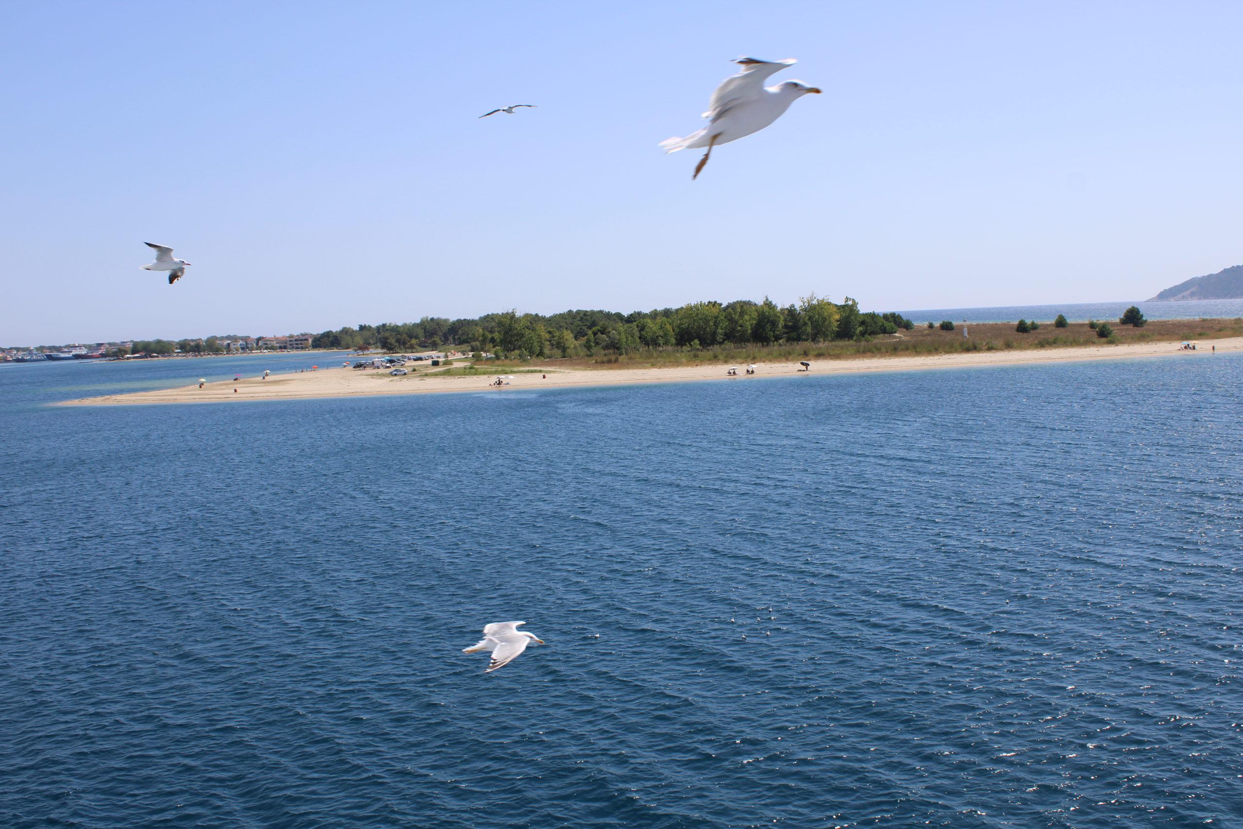 Thassos i fugleperspektiv
